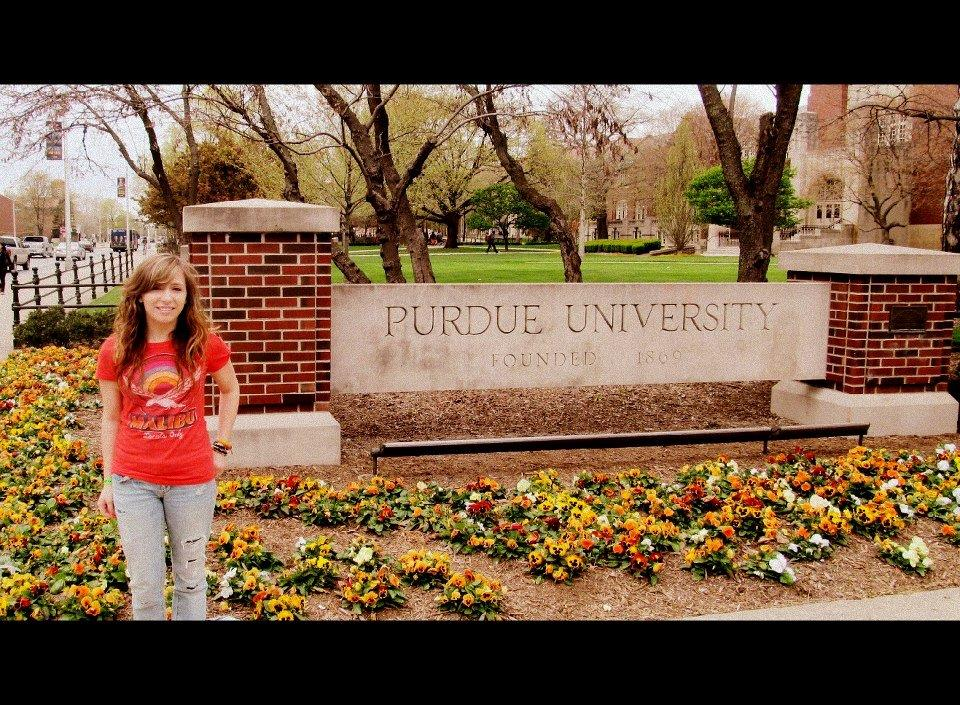 Students collaborate at Purdue visit